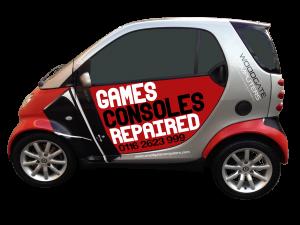 Games console repair