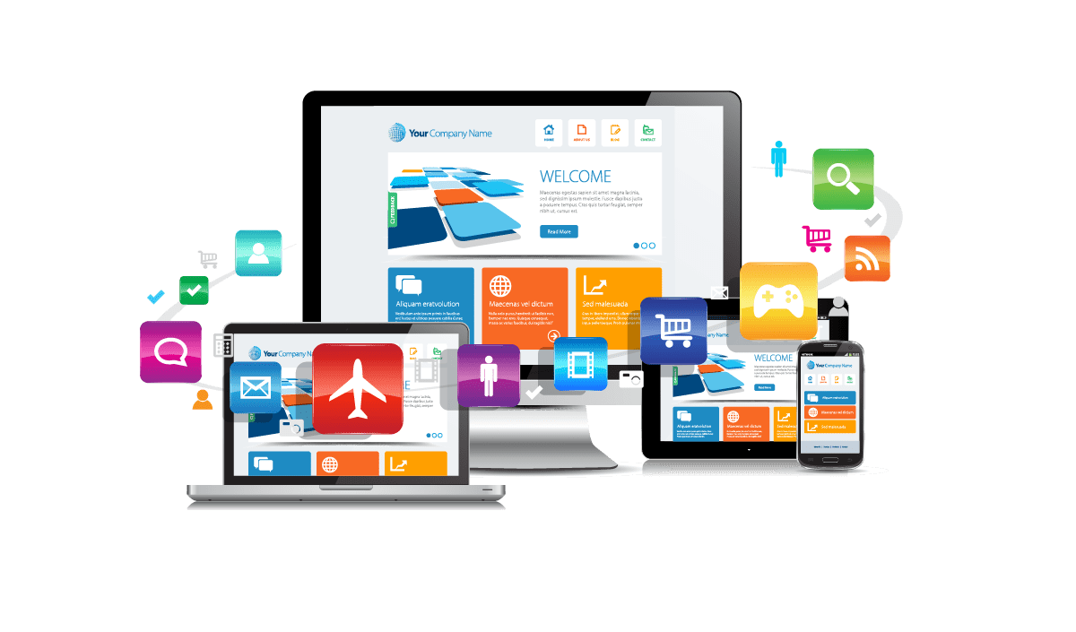 Web Design and Development Services, Web design and development, Woodgate Computers